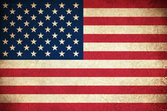 Grunge Flag of USA Royalty Free Stock Images