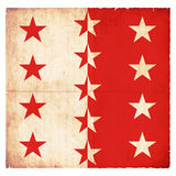 Grunge flag of Valais Switzerland Royalty Free Stock Images