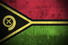 Grunge Flag Of Vanuatu Royalty Free Stock Photography