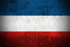 Grunge Flag Of Yugoslavia Royalty Free Stock Photography