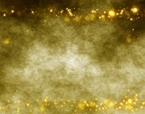 Grunge Flares. Abstract vintage grunge composition with some yellow flares Royalty Free Stock Images