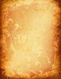 Grunge floral Stock Image