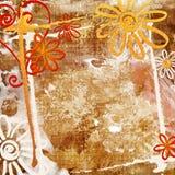 Grunge floral Libre Illustration
