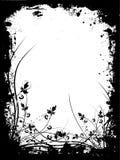 Grunge floral Foto de Stock Royalty Free