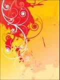 Grunge floral Royalty Free Stock Image