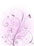 Grunge floral Imagem de Stock