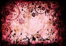 Grunge floral Foto de archivo