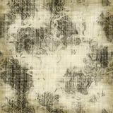 Grunge floral Imágenes de archivo libres de regalías