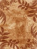 Grunge floral background. Floral grunge background - fully editable vector file available Stock Illustration