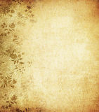 Grunge floral background with space for text Royalty Free Stock Photo