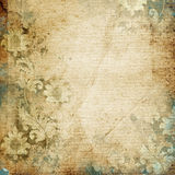 Grunge floral background with space for text or image Royalty Free Stock Image
