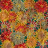 Grunge floral background vintage Stock Image