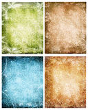 Grunge floral backgrounds02 Stock Photos
