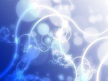 Grunge floral de Swirly Imagen de archivo libre de regalías