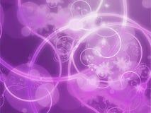 Grunge floral de Swirly Foto de archivo libre de regalías