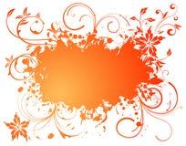 Free Grunge Floral Frame Stock Photo - 10918130