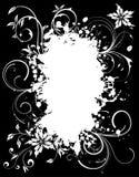 Grunge Floral Frame Royalty Free Stock Photo