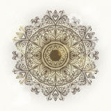 Grunge floral ornament Royalty Free Stock Image