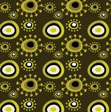 Grunge floral pattern Stock Photography