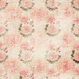 Grunge floral wallpaper Stock Photography