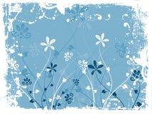 Grunge florale Photo stock