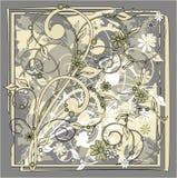 Grunge florale Photo libre de droits