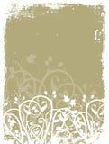 Grunge florale illustration libre de droits