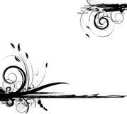 grunge florale de conception Photos libres de droits