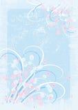 grunge florale de fond Photographie stock libre de droits