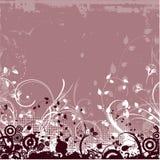 Grunge floreale Fotografie Stock