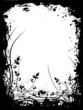 Grunge floreale Fotografia Stock Libera da Diritti