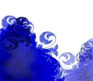 Grunge Flourish Background vector illustration