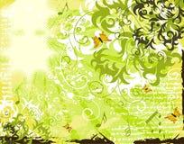 Grunge flower background Royalty Free Stock Photography