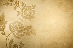 Grunge flower background Royalty Free Stock Photo