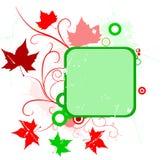 Grunge flower banner Stock Photography