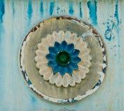 Grunge flower pattern Royalty Free Stock Image