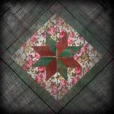 Grunge flower retro background Stock Photography