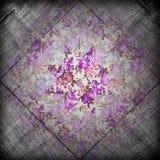 Grunge flower retro background Stock Photos