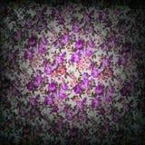 Grunge flower retro background Stock Images