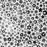 Grunge Flowers Background vector illustration