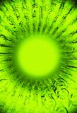 Grunge Fluo Green Stock Images