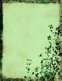 Grunge foliage frame Royalty Free Stock Photography