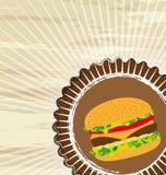Grunge food Royalty Free Stock Image