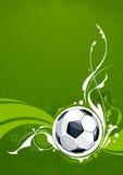 Grunge football background Stock Images