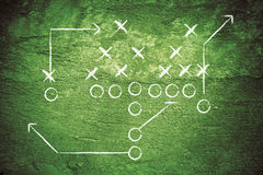 Grunge Football Play royalty free stock images