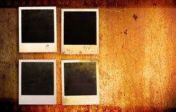 Grunge fotoramar arkivfoton