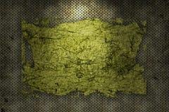 Grunge Frame. Digital grunge frame with pattern background Stock Image