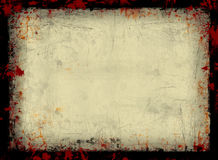 Grunge frame. With space for text Stock Photography