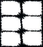 Grunge frame. Black and white Stock Photos
