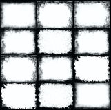 Grunge frame. Black and white Royalty Free Stock Photo